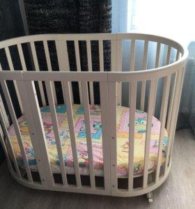 Кроватка Ellipsebed