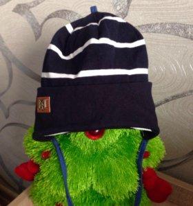 Новая шапка на мальчика 1-2 года