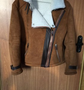 Искусственная дубленка -куртка