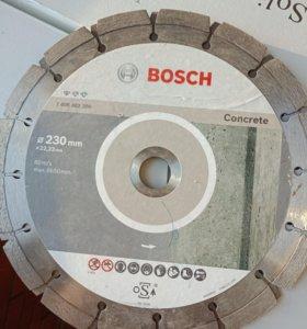 Диск алмазный bosch по бетону 230х22,23