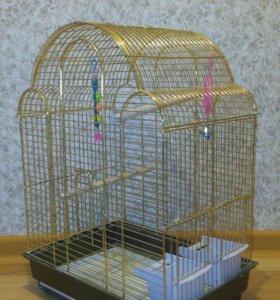 Клетка для больших попугаев(корелла,розелла)