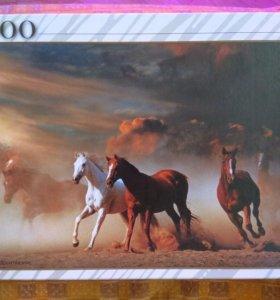 Пазл Лошади 3000 СРОЧНО 🔝