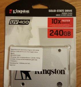 """Kingston SSD 2.5"""""""" UV400 240GB"""