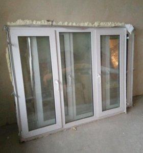 ПВХ 2 окна