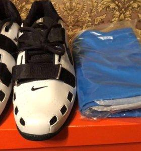 Штангетки и трико Nike
