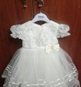 Платье для девочки, нарядное на 1, 2 годика.