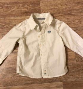 Рубашка белая Mexx 80 см