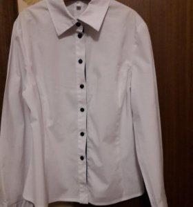 Блуза школьная белая р 146-152