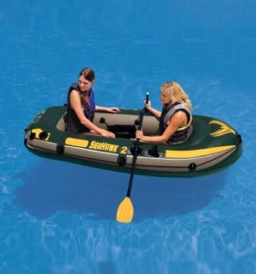 Надувная лодка Intex Seahawk-200 Set