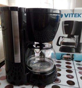 Кофеварка vitek VT-1512BK