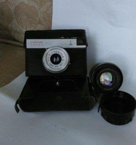 Фотоаппарат СМЕНА 8М + ЗЕНИТ-Е на запчасти