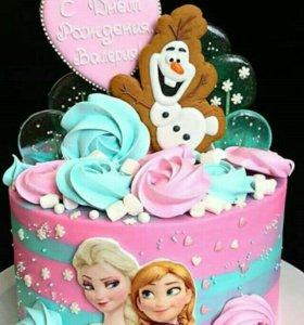 Детский тортик на заказ