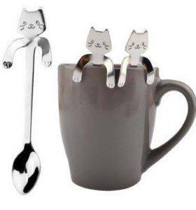 Чайная ложечка - котик