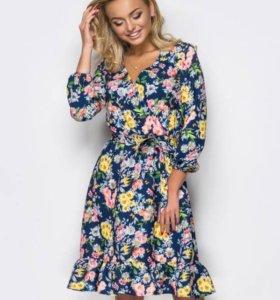 Платье новое в цветочек