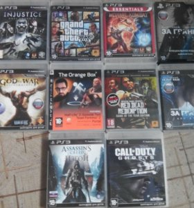 PS 3 диски