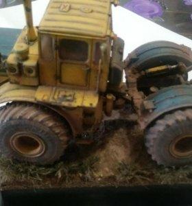 Модель трактора к700