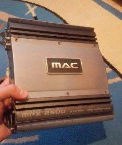 Усилитель двухканальный Mac audio mpx 2500