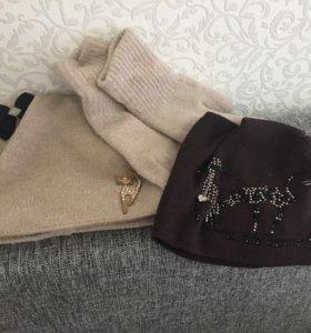 Женские Шапки и перчатки