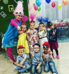 Проведения детских праздников