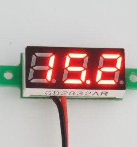 Вольтметр DC диапазон измерения 3-30V