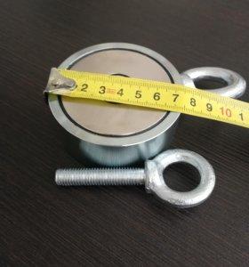 Поисковый двухсторонний магнит F200x2