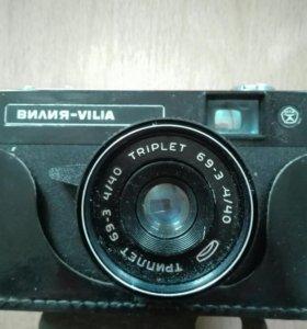 Фотоаппарат ретро Вилия СССР