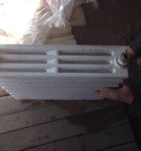 Радиаторы отопления чугун.