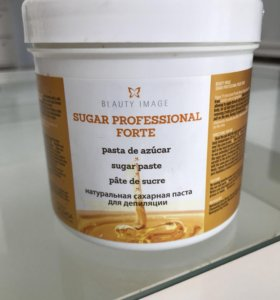 Сахарная паста для депиляции плотной консистенции