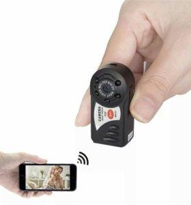 Мини Wi-Fi камеры с дтч. движения и ночной съемкой