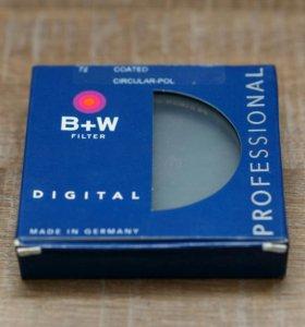 Поляризационный фильтр B&W 72mm made in germany