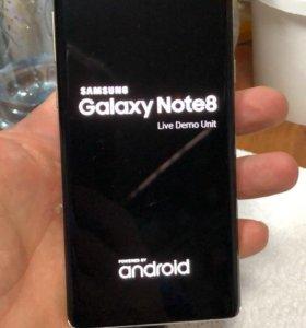 Galaxy NOTE 8 Демоверсия