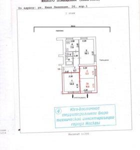 Комната, 33 м²