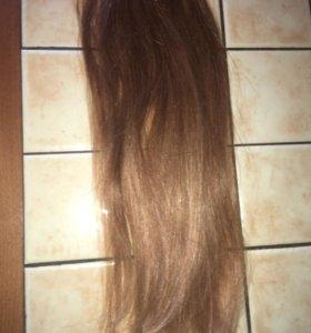 наращивание волос 40 см 120 капсул-для объема