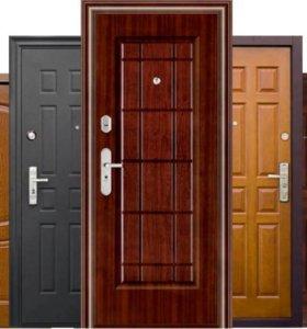 Установка входных дверей для домов и офисов