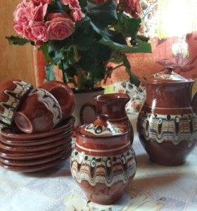 Сервиз кофейный керамика СССР
