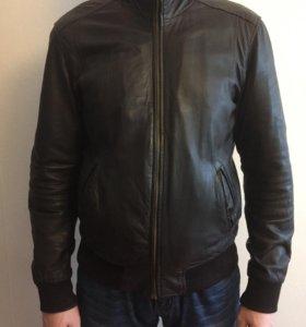 Кожаная куртка censured XL