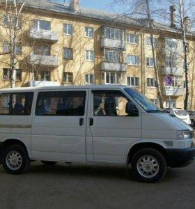 Фольксваген транспортер микроавтобус минивен