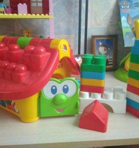 Домик конструктор для самых маленьких
