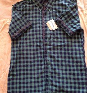 Мужская летняя рубашка Турция размер L
