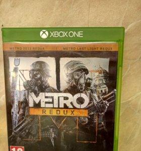 Игра для Microsoft Xbox one Метро