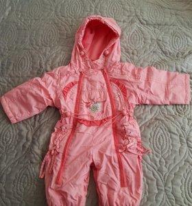 Комбинезон для малышки (теплая осень)