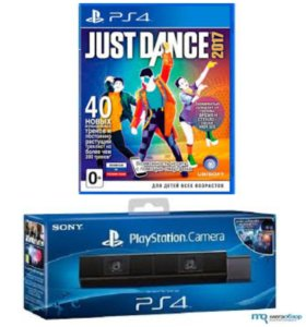 PS4 camera +Just Dance 2017