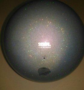 Мяч для худ.гимнастики с блёсками