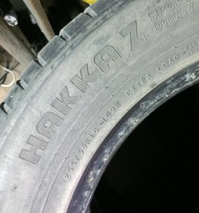 Nokian Hakka Z sport utility 255/55 R18