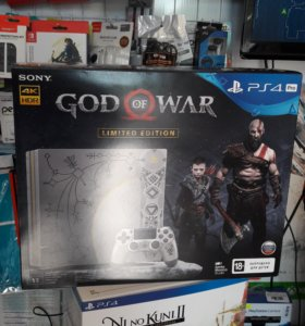 Sony Playstation 4 PRO PS4 God of War Limited Ed.