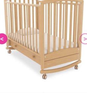 Детская кровать-качалка Gandilyan