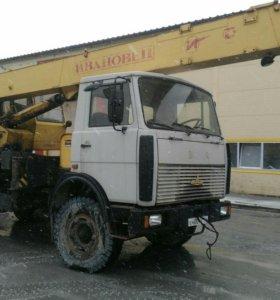 Автокран 17 тонн