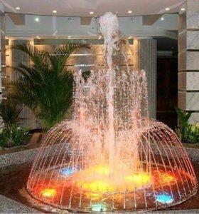 Пруды каскады водопады фонтаны