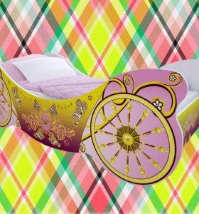 Детская кроватка Карета