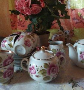 Сервиз чайный СССР